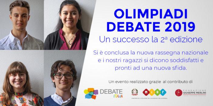 ITE Tosi - Olimpiadi Nazionali di Debate 2019