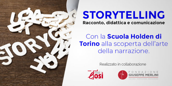 ITE Tosi Scuola Holden Torino Storytelling