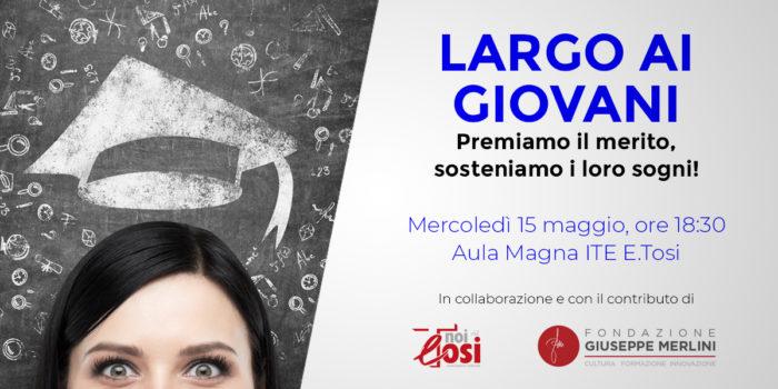ITE Tosi - 5x100 da Fondazione Giuseppe Merlini e Associazione Noi del Tosi