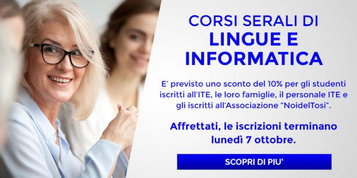 ITE Tosi- Corsi Serali di Lingue e Informatica